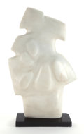 Post-War & Contemporary:Contemporary, ÉTIENNE HAJDU (French, 1907-1996). La Mer, 1964. Marble.38-1/2 x 25 x 9-7/8 inches (97.8 x 63.5 x 25.1 cm). Incised on ...