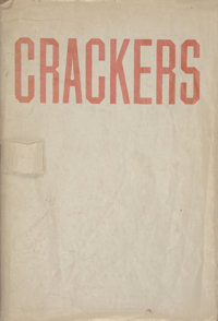 ED RUSCHA (American, b. 1937) Crackers, Heavy Industry Publications, Hollywood, 1969 Octavo wrappers