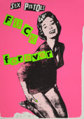 Prints:Contemporary, JAMIE REID (British, b. 1947). Sex Pistols Fuck Forever (4works), 1997. Silkscreens in colors. Each: 39-1/2 x 29inches... (Total: 4 Pieces)