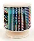 Post-War & Contemporary:Contemporary, YAACOV AGAM (Israeli, b. 1928). Agamorama (AcceleratedRhythme). Polychromed wood and laminate with rotatingmechanism. ...
