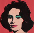 Post-War & Contemporary:Pop, ANDY WARHOL (American, 1928-1987). Liz, 1967. Offset colorlithograph on paper. 23-1/8 x 23-1/8 inches (58.7 x 58.7 cm)...