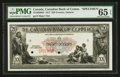 Canadian Currency: , Toronto, ON- The Canadian Bank of Commerce $20 Jan. 2, 1917 Ch. #75-16-02-08s Specimen. ...