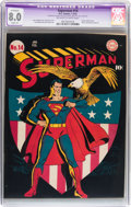 Golden Age (1938-1955):Superhero, Superman #14 (DC, 1942) CGC Apparent VF 8.0 Slight (P) Off-white to white pages....