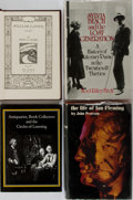 Books:Books about Books, [Books About Books]. Group of Four Related Books. Various editions and publishers, 1966-1996. Publishers bindings. Very good... (Total: 4 Items)