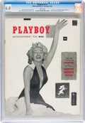 Magazines:Miscellaneous, Playboy #1 (HMH Publishing, 1953) CGC FN 6.0 White pages....