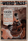 Pulps:Horror, Weird Tales - March '23 First Issue (Popular Fiction, 1923)Condition: FR....