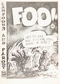 Silver Age (1956-1969):Alternative/Underground, Foo #1 Original Printing (Animal Town Comics, 1958) Condition:VF+....