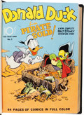Golden Age (1938-1955):Miscellaneous, Donald Duck Four Color Bound Volume With Carl Barks' First Fan Sketch (Dell, 1942-49).. ...