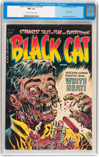 Black Cat Mystery #50 (Harvey, 1954) CGC NM- 9.2 Cream to off-white pages
