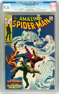The Amazing Spider-Man #74 (Marvel, 1969) CGC NM+ 9.6 Off-white to white pages