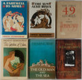Books:Literature 1900-up, Ernest Hemingway. Group of Six Books, Three First Edition Library.Various editions and publishers. Publisher's binding and ...(Total: 6 Items)
