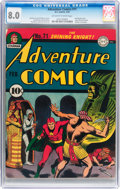 Golden Age (1938-1955):Superhero, Adventure Comics #71 (DC, 1942) CGC VF 8.0 Off-white to white pages....
