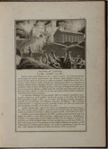 Books:Art & Architecture, [Engravings]. French Album of Engravings. [n. p.], ca. 1800. Quarto. Custom green half morocco with light rubbing and toning...