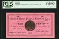 Canadian Currency: , Grand River, NL- Grand River Pulp & Lumber Co. 10¢ Undatedcirca 1900 Ch. # UNL. ...