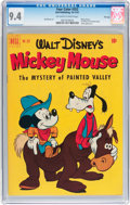 Golden Age (1938-1955):Cartoon Character, Four Color #352 Mickey Mouse - File Copy (Dell, 1951) CGC NM 9.4Off-white to white pages....