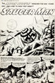 "Jack Kirby and Al Williamson Race For the Moon #3 Complete 5-Page Story ""Saucer Man"" Original Art (Harvey, 195..."