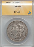 Morgan Dollars: , 1895-O $1 XF45 ANACS. NGC Census: (733/2214). PCGS Population(891/1881). Mintage: 450,000. Numismedia Wsl. Price for probl...