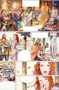 Original Comic Art:Panel Pages, Milo Manara from Neil Gaiman's Sandman Endless Nights Page12 Original Art (undated)....