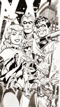 Original Comic Art:Covers, Jose Luis Garcia-Lopez Before Watchmen: Minutemen #2B CoverOriginal Art (DC, 2012)....