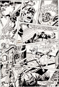 Original Comic Art:Panel Pages, Sal Buscema and John Romita Captain America #148 Page 13Original Art (Marvel, 1972)....