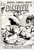 Original Comic Art:Covers, Gil Kane and Frank Giacoia Daredevil #81 Cover Original Art(Marvel, 1971)....