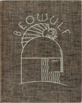 Books:Literature 1900-up, Rockwell Kent [illustrator]. SIGNED/LIMITED. Beowulf. RandomHouse, 1932. Limited to 950 numbered copies, signed b...