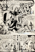 Original Comic Art:Splash Pages, Nestor Redondo House of Mystery #235 Splash Page 1 OriginalArt (DC, 1975)....