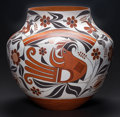 American Indian Art:Pottery, AN ACOMA POLYCHROME JAR. Joseph Cerno. c. 2005...