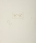 Prints:Contemporary, JASPER JOHNS (American, b. 1930). The Critic Sees (from Ten fromLeo Castelli portfolio), 1967. Embossing with screenpri...