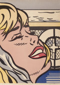 Prints:Contemporary, ROY LICHTENSTEIN (American, 1923-1997). Shipboard Girl,1965. Offset lithograph in colors. 27 x 20-3/8 inches (68.6 x 51...