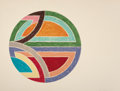 Prints:Contemporary, FRANK STELLA (American, b. 1936). Sinjerli variation I (fromSinjerli variations series), 1977. Offset lithograph and sc...