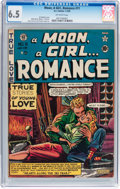 Golden Age (1938-1955):Romance, A Moon, A Girl...Romance #11 (EC, 1950) CGC FN+ 6.5 Off-whitepages....