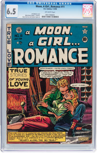 A Moon, A Girl...Romance #11 (EC, 1950) CGC FN+ 6.5 Off-white pages