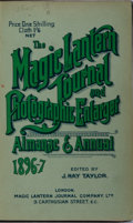 Books:Photography, [Photography]. J. Hay Taylor [editor]. The Magic Lantern Journal and Photographic Enlarger Almanac & Annual 1896-97....
