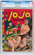 Golden Age (1938-1955):Miscellaneous, Jo-Jo Comics #22 (Fox Features Syndicate, 1948) CGC VF- 7.5 Off-white to white pages....