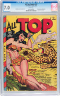 Golden Age (1938-1955):Adventure, All Top Comics #12 (Fox Features Syndicate, 1948) CGC FN/VF 7.0White pages....