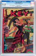 Golden Age (1938-1955):Adventure, Key Comics #4 (Consolidated Magazines, 1946) CGC VF/NM 9.0 Cream to off-white pages....