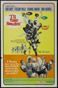 """Movie Posters:Comedy, I'll Take Sweden (United Artists, 1965). One Sheet (27"""" X 41""""). Comedy. Starring Bob Hope, Tuesday Weld, Frankie Avalon, Din..."""