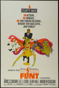 "Movie Posters:Action, In Like Flint (20th Century Fox, 1967). One Sheet (27"" X 41""). Action Comedy. Starring James Coburn, Lee J. Cobb, Jean Hale,..."