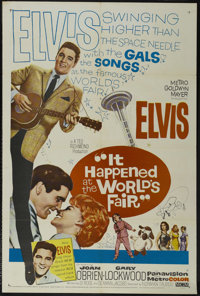 """It Happened at the World's Fair (MGM, 1963). One Sheet (27"""" X 41""""). Musical. Starring Elvis Presley, Joan O'Br..."""