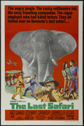 "Movie Posters:Adventure, The Last Safari (Paramount, 1967). One Sheet (27"" X 41"").Adventure. Directed by Henry Hathaway. Starring Stewart Granger,K..."