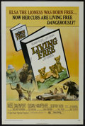 "Movie Posters:Adventure, Living Free (Columbia, 1972). One Sheet (27"" X 41"") Style B.Adventure. Directed by Jack C. Couffer. Starring Nigel Davenpor..."