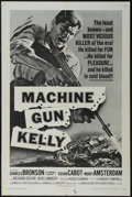 """Movie Posters:Crime, Machine Gun Kelly (American International, R-1967). One Sheet (27"""" X 41""""). Crime. Directed by Roger Corman. Starring Charles..."""