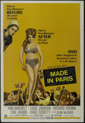 """Movie Posters:Comedy, Made in Paris (MGM, 1966). One Sheet (27"""" X 41""""). Comedy. Directed by Boris Sagal. Starring Ann-Margret, Louis Jourdan, Rich..."""