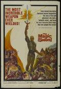 "Movie Posters:Fantasy, The Magic Sword (United Artists, 1962). One Sheet (27"" X 41""). Fantasy. Starring Basil Rathbone, Estelle Winwood, Gary Lockw..."