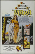 "Movie Posters:Adventure, Mara of the Wilderness (Allied Artists, 1965). One Sheet (27"" X41""). Adventure. Starring Adam West, Linda Saunders, Theodor..."