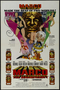 """Marco the Magnificent (MGM, 1966). One Sheet (27"""" X 41""""). Adventure. Starring Anthony Quinn, Horst Buchholz, E..."""