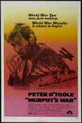 "Movie Posters:War, Murphy's War (Paramount, 1971). One Sheet (27"" X 41""). War.Starring Peter O'Toole, Sian Phillips, Philippe Noiret and Horst..."