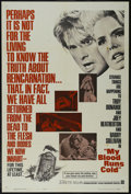 """Movie Posters:Thriller, My Blood Runs Cold (Warner Brothers, 1965). One Sheet (27"""" X 41""""). Mystery Thriller. Starring Troy Donahue, Joey Heatherton,..."""