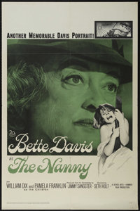 """The Nanny (20th Century Fox, 1965). One Sheet (27"""" X 41""""). Thriller. Directed by Seth Holt. Starring Bette Dav..."""
